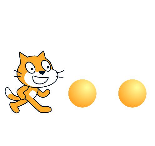 Scratch(スクラッチ):クローンを使ってボールを連射しよう
